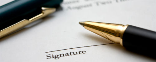 Pens - contract