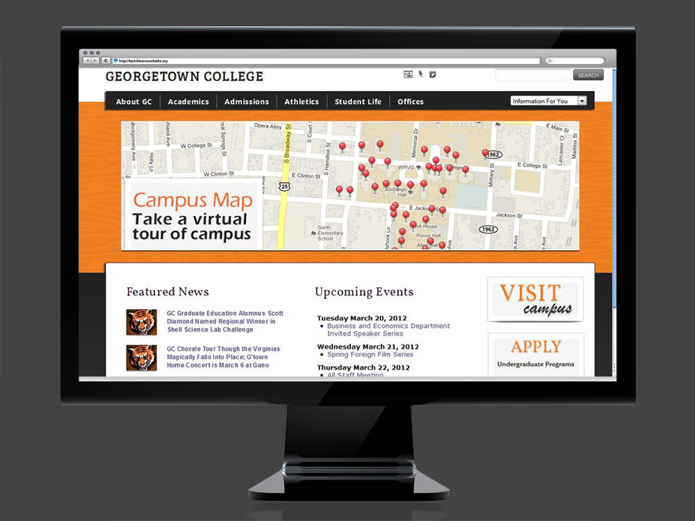 Georgetown College Homepage