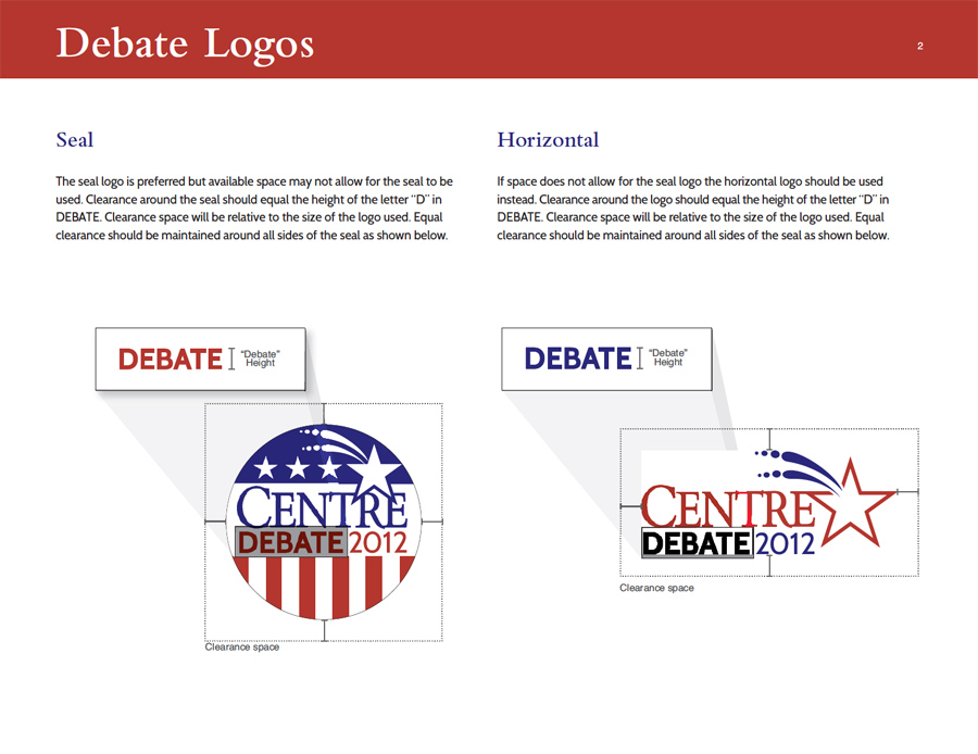 Debate Logo Guidelines
