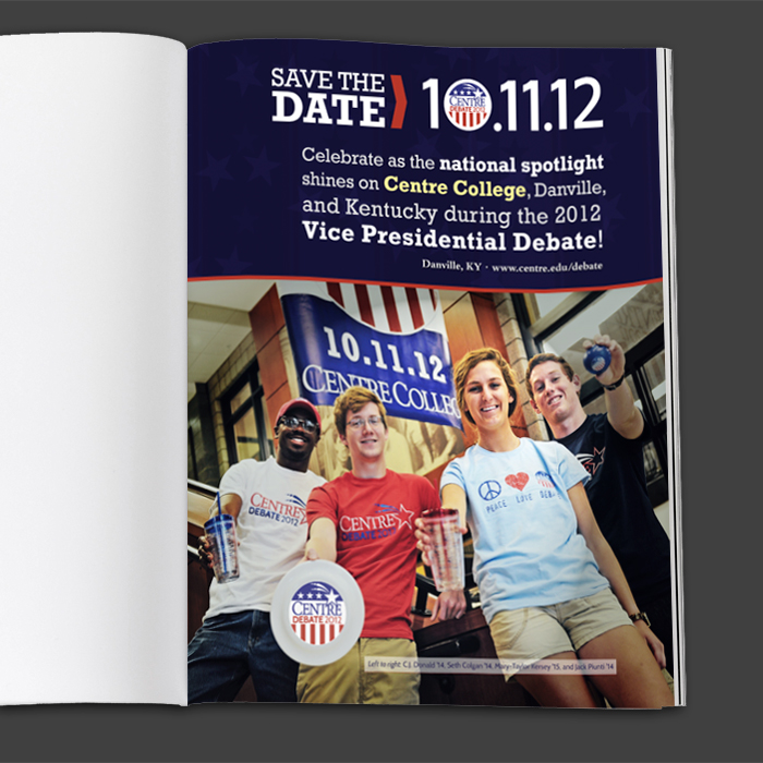Debate magazine Ad