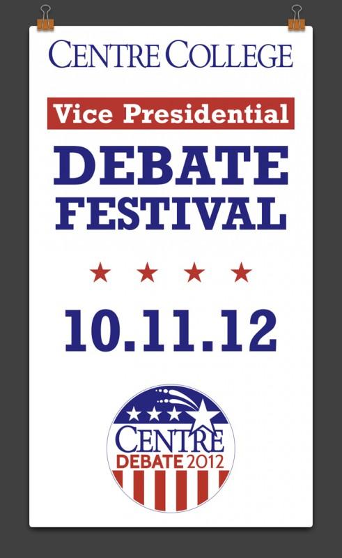 Main Street Poster - debate festival