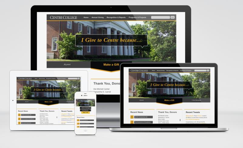 Centre Giving Website