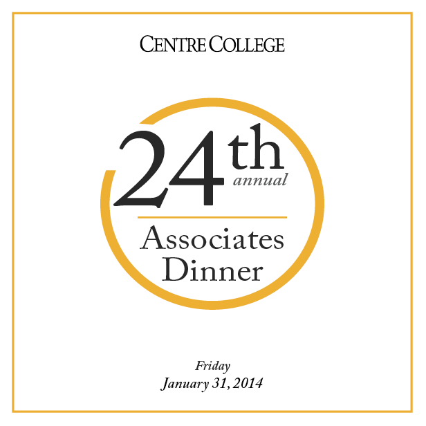 Annual Associates Dinner Program Cover